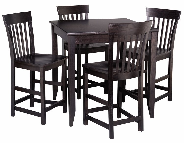 Mission Dining Collection Contemporary Gathering Table Adirondack Furniture