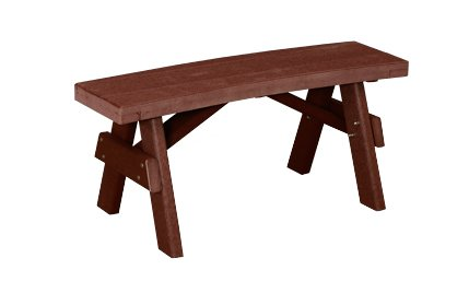 Magnificent Finch 4 X 8 Wood Table W Benches Attached Adirondack Beatyapartments Chair Design Images Beatyapartmentscom